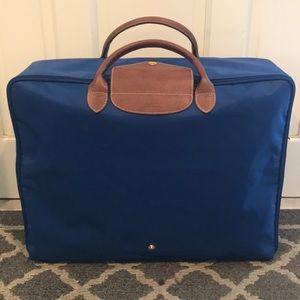 Longchamp Collapsable Travel Luggage Suitcase Bag
